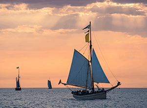 受け継がれた帆船