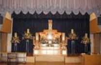 野菊の里斎場 祭壇