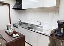 自由に使える給湯室