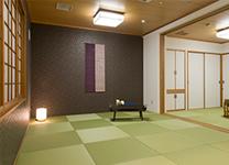 琉球畳でおくつろぎいただけます
