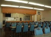 キッチン直結の控え室