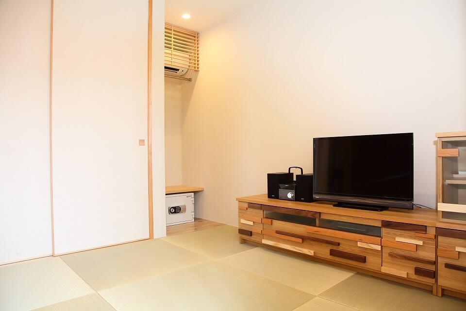 琉球畳の和室控室