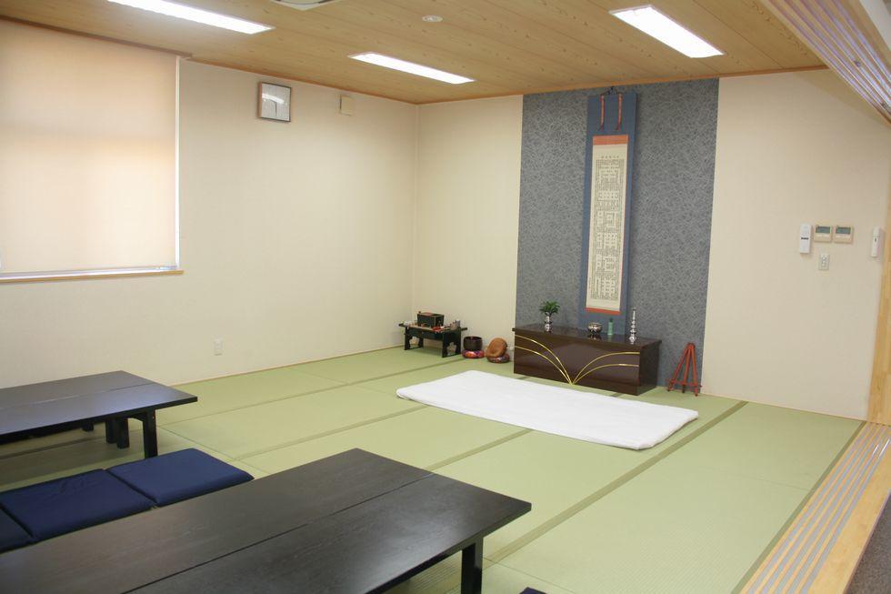 ファミーユ阿久比の安置室