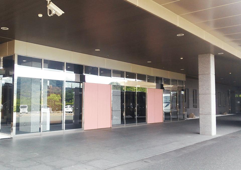 豊川市斎場会館 永遠の森入口