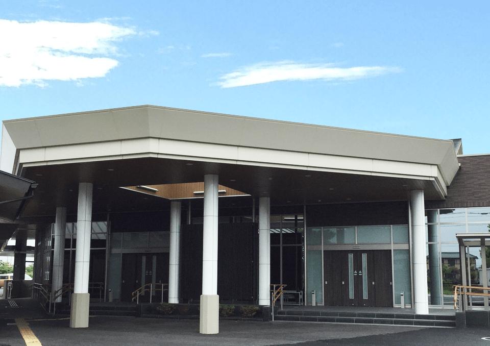 行田市斎場 外観1