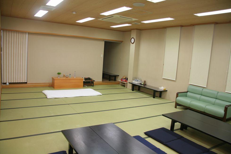 ファミーユ半田東浦の安置室