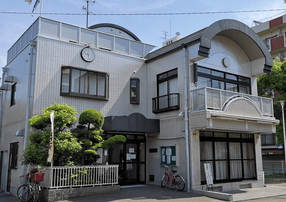 東大阪足代公園集会所 外観1