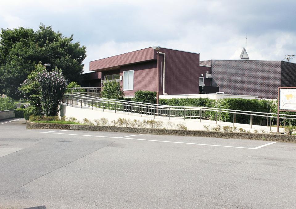 松戸市斎場 駐車場