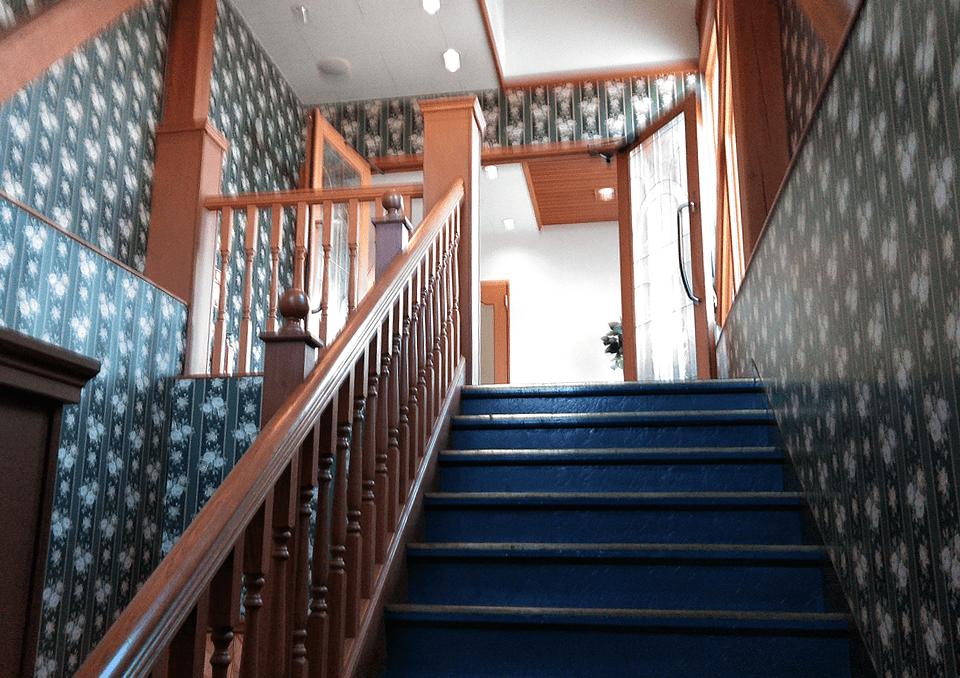 無門庭園 階段