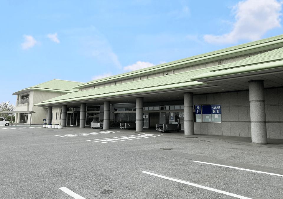 名古山斎場 外観1