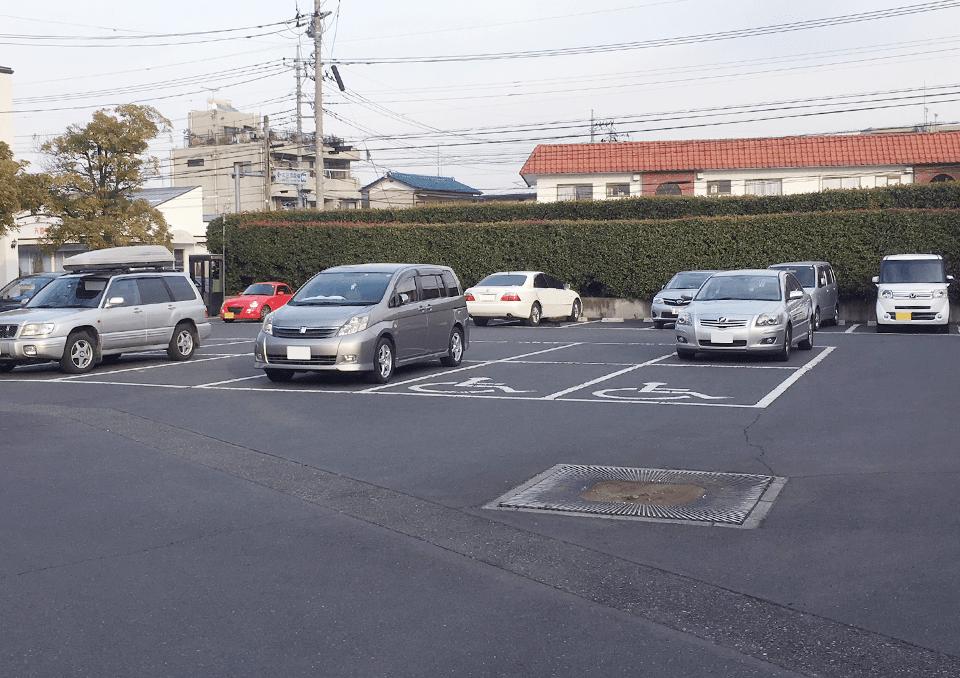 太田市斎場 駐車場