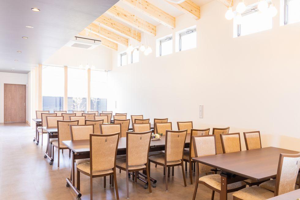 ファミーユ太田川の会席室