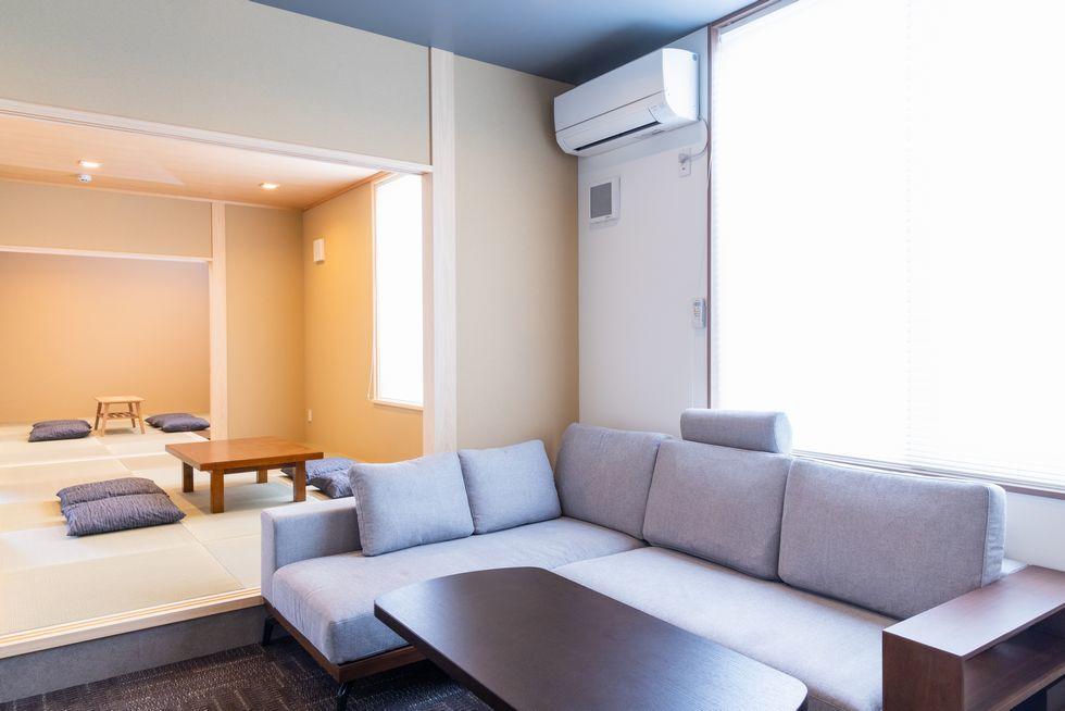 ファミーユ太田川の控室