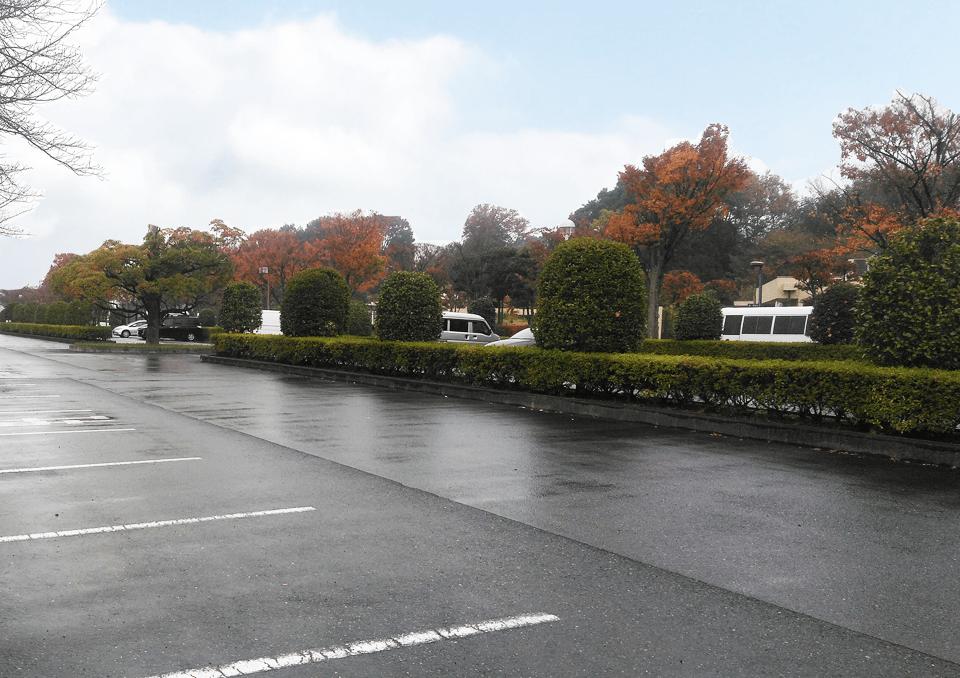 思い出の里会館 駐車場