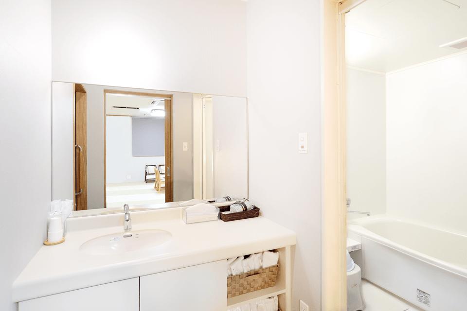 清潔で使いやすい浴室