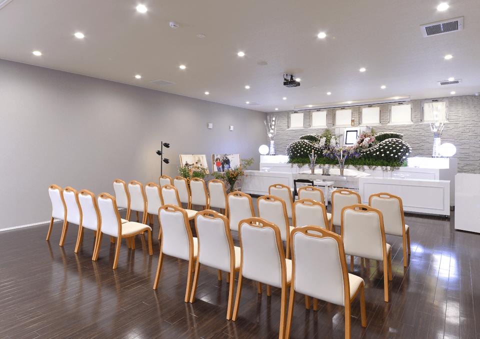 席数の調整ができる家族葬式場