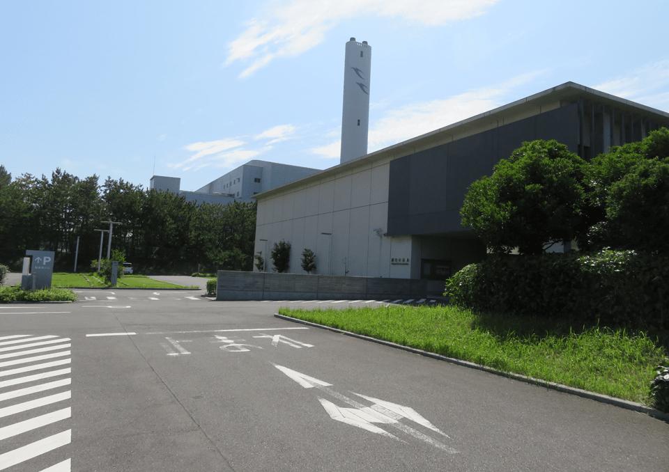 浦安市斎場 外観2