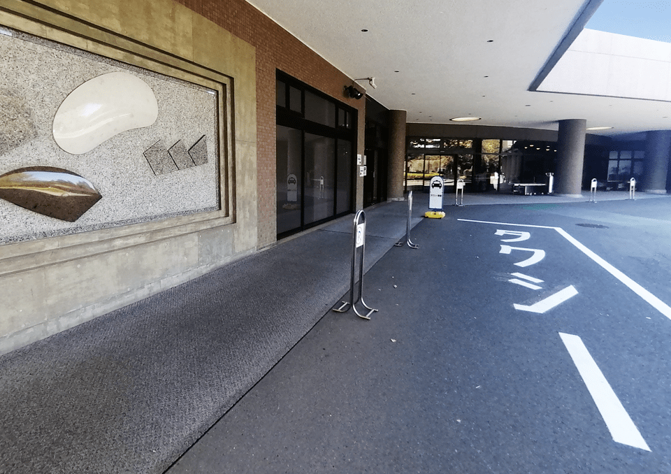 大和斎場 タクシー乗り場