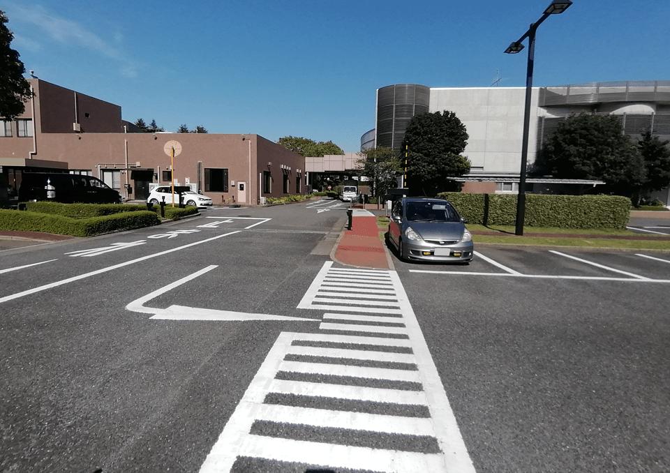 大和斎場 駐車場