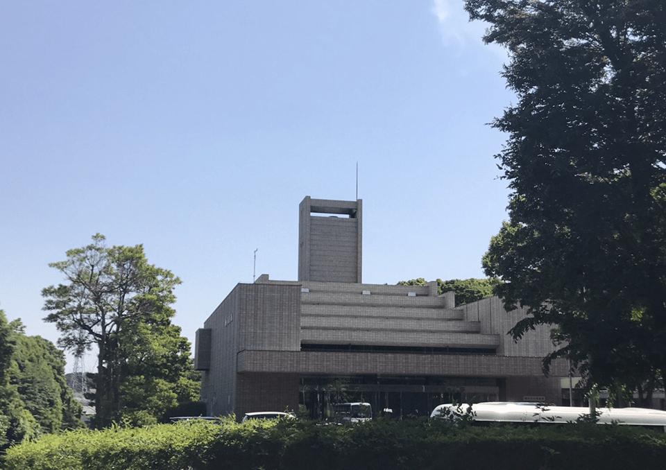 横浜市戸塚斎場 外観1